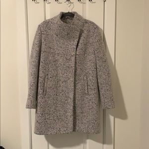 Kenneth Cole Light Gray Coat
